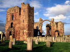 Lindisfarne Priory, Northumberland, England