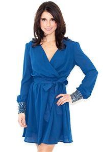 West Coast Wardrobe On the Cuff Long Sleeve Dress