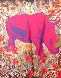 Oh,Yarnz! I love your scarves. I think I liking rhinos more than flamingos now.