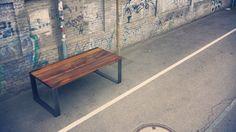 Old reclaimed wine oak table