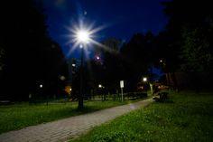 Radlin by night (photo by Remigiusz Śmietana)
