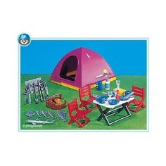 Amazon.com: Playmobil Tent and Camping Equipment: Toys & Games 14.63 mylee and collin