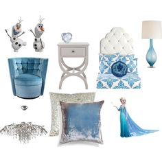 Disney's Frozen Themed Bedroom | Everything Fashion Beauty Home Top Sets