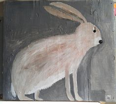 umla:hare with hole eye by sally_wolfe_ on Flickr.