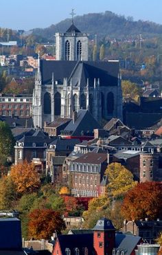 Liège, Belgium. Liège is located in Wallonia, the French-speaking region of Belgium. The city is situated in the valley of the Meuse River, in the east of Belgium, not far from its borders with The Netherlands and Germany. (V)