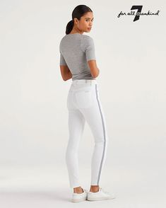 New Fun White Denim Styles for Summer from 7 For All Mankind - Decadent Dissonance