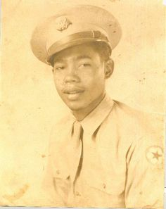 Photograph of James Delaney in WWII uniform. (Amelia Island Museum of History)