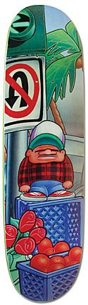 Model: Chico Brenes    Artist: Marc McKee    Company: World Industries    Release Date: 1992