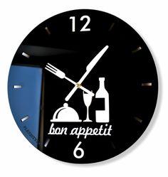 Nástenné hodiny do kuchyne čiernej farby Ale, Clock, Home Decor, Watch, Decoration Home, Room Decor, Ale Beer, Clocks, Home Interior Design