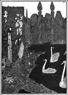 I'll be your mirror, reflect what you are, in case you don't know  Harry Clarke, illustrations for fairy tales  Title: Lou Reed