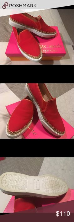 Kate Spade Sneakers Red size 8 kate spade Shoes Sneakers