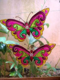 Bia Quevedo: borboletas