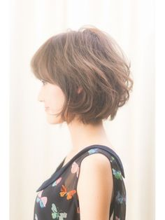 【VIRGO】マッシュショートボブ×ランダムカール☆ - 24時間いつでもWEB予約OK!ヘアスタイル10万点以上掲載!お気に入りの髪型、人気のヘアスタイルを探すならKirei Style[キレイスタイル]で。