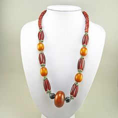 Hey, I found this really awesome Etsy listing at https://www.etsy.com/listing/162804630/vintage-ethnic-necklace-african-trade