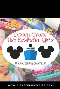 Great ideas for Disney Cruise fish extender gifts that can be purchased in bulk. #DCL #Disneycruise #Disney