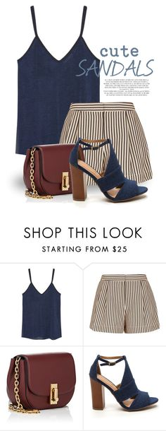 """""""Cute Sandals 1649"""" by boxthoughts ❤ liked on Polyvore featuring MANGO, 3.1 Phillip Lim, Marc Jacobs and Rachel"""