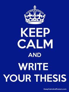 Keep calm... Sí, clar.