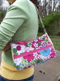Small Chic Zip Handbag pdf pattern