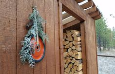 Rustic, Re-purposed, Wreath-alternative - HOME SWEET HOME