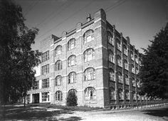 Klingendahlin 100-vuotisjuhlat, tehdasrakennus, 5.8.1952