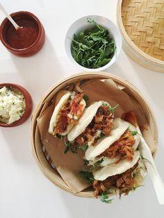 """Pulled pork"" av ribbe — FAMILIEMAT Pulled Pork, Tacos, Ethnic Recipes, Food, Shredded Pork, Essen, Meals, Yemek, Eten"