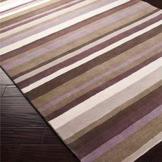 Madison Square Rug, Style 1007, 8'x10' - Size: 8' x 10' • Designed by Angelo Surmelis • 100% Wool • Hand Loomed • Made in India • Custom Sizes Available • Available in 6 Colors • Plush Pile • Color (Pantone TPX): Silver Cloud (14-0000), Brindle (17-1009), Ivory (12-0304), Mulled Wine (18-1409), Lilac Mist (14-3903), Hot Cocoa (18-1312)