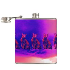 raining cats flasks so please read the important details before your purchasing anyway here is the best buyThis Deals raining cats flasks lowest price Fast Shipping and save your money Now! Cool Flasks, Cat Drinking, Unique Gifts, Birthdays, Cats, Promotion, Prints, Handmade, Gatos
