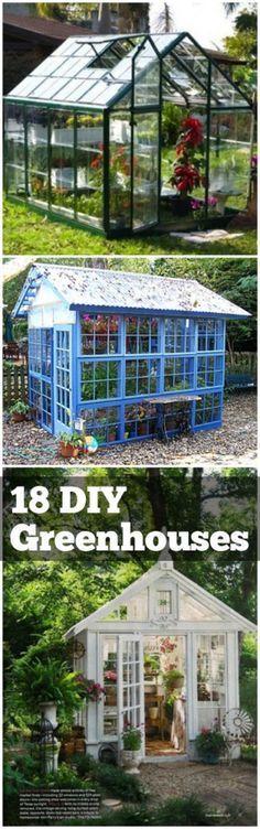 18 DIY Greenhouses