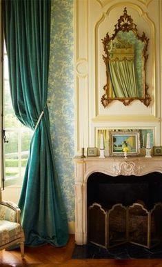 Pretty French room.