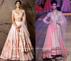 High low Pink Lehenga Designs                                                                                                                                                                                 More