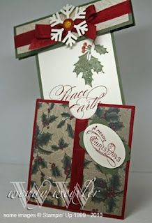 Wickedly Wonderful Creations: LOVE the card! Christmas Paper Crafts, Homemade Christmas Cards, Christmas Cards To Make, Xmas Cards, Handmade Christmas, Homemade Cards, Christmas Gift Card Holders, Christmas Gifts, Greeting Cards