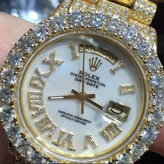 RICH FOREVER Fancy Watches, Luxury Watches, Cool Watches, Rolex Watches, Watches For Men, Gold Diamond Watches, Gold Accessories, Diamond Are A Girls Best Friend, Christmas Shopping