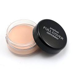 Popfeel Concealer Cream for Under Eye  Face Makeup  All Natural 88 Organic Vegan Gluten Free No Animal Cruelty No Toxic Chemicals Safe for Sensitive Skin NO1 ** For more information, visit now : Best Concealer