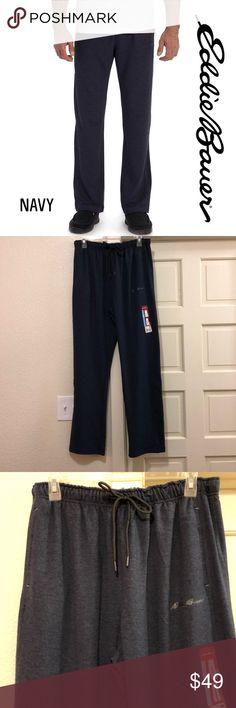 Men/'s Stafford Black Dogs Slip On Drawstring Stretch Waist Sleep Pants Sz L XL