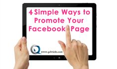 How To Promote Your Company's Facebook Page & Other Social Media Account To A Huge Success - http://www.qdtricks.com/promote-facebook-page-strategy/