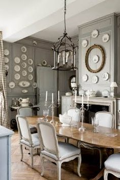 Like this color for cabinets...with buffalo check curtains, combining cream,oatmeal and gray