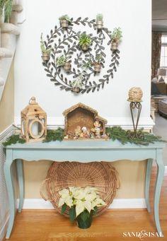 Nativity Scene / basket