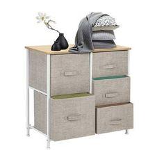 "ClosetMaid 17.8""W Storage Drawer & Reviews | Wayfair 5 Drawer Storage, Cube Storage, Storage Cabinets, Storage Chest, Small Dresser, 5 Drawer Dresser, Chest Dresser, Fabric Dresser, Fabric Drawers"