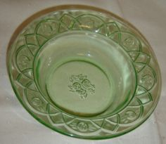 Rosemary Depression Glass by Federal Glass