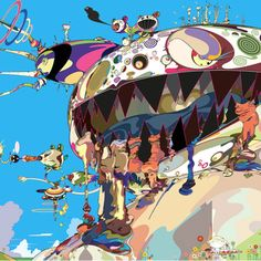 Takashi Murakami designs Google Doodle for the summer solstice [PHOTOS]