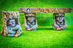 Discount Garden Statues Ltd - Pixie Goblin Tree Bark Garden Magical Bench and Matching Bird Bath Hand Made in UK, £399.00 (http://www.discountgardenstatues.co.uk/pixie-goblin-tree-bark-garden-magical-bench-and-matching-bird-bath-hand-made-in-uk/)