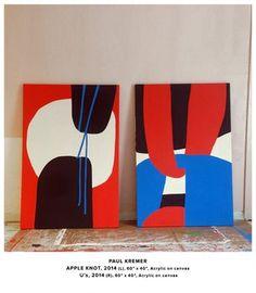 Paul Kremer became a fan at Untitled Miami 2014 # Painting Inspiration, Art Inspo, Illustration Arte, Illustrations, Tableau Pop Art, Shape Art, Grafik Design, Minimalist Art, Modern Art