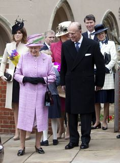 British Royal Family | british royal family attend easter church service the british royal