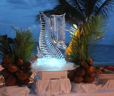Ice Sculpture at Couples Tower Isle #Jamaica