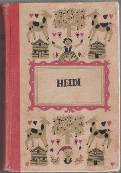 Heidi.  Written by Johanna Spyri. Illustrated by Roberta Macdonald. Junior Deluxe Editions, 1954.