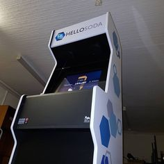 Our Mark One ALPHA multi game arcade machine!