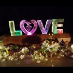 Personalised 3D LED lights