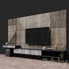 Tv Wall Panel, Wall Tv, Tv Wall Decor, Tv Unit Furniture Design, Tv Unit Interior Design, Tv Cabinet Design, Tv Wall Design, Bedroom Bed Design, Home Room Design
