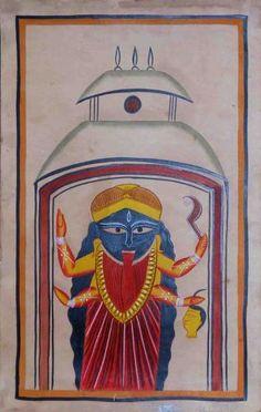 4. Kalighat Painting