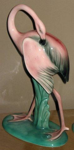 1950s Will and George Pink Flamingo statute for Flamingo Hotel in Las Vegas